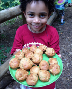 Baking Muffins from the Farm NatureYear KU